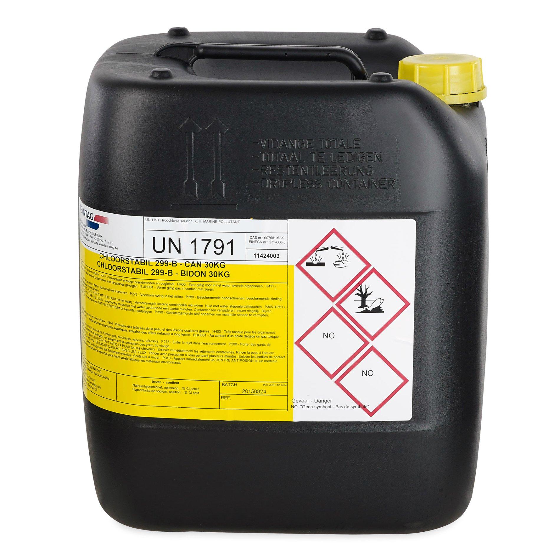 Genoeg Chloorstabil 299-B 20 liter | Zwembad.be CJ46