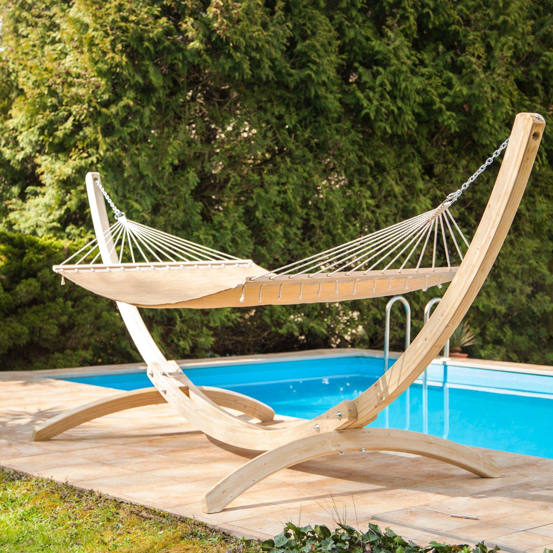 Hangmat Standaard 200 Kg.Hangmat Staander Olymp Zwembad Be