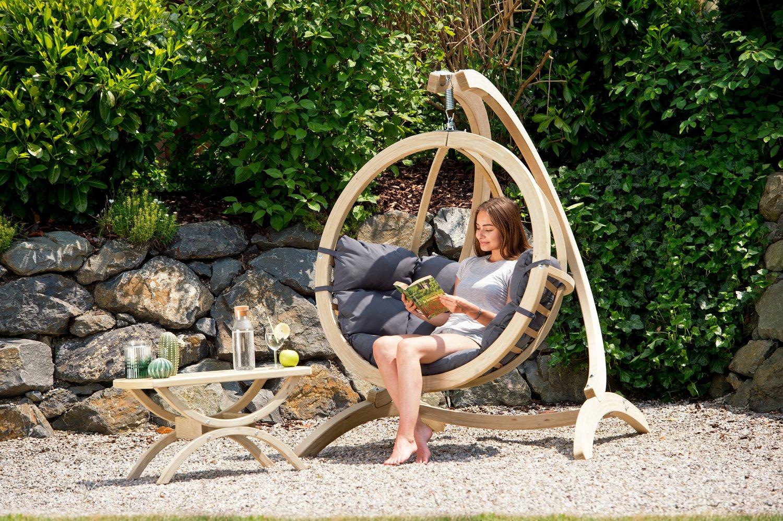 Hang Stoel Tuin.Hangstoel Voor In De Tuin Antraciet Zwembad Be