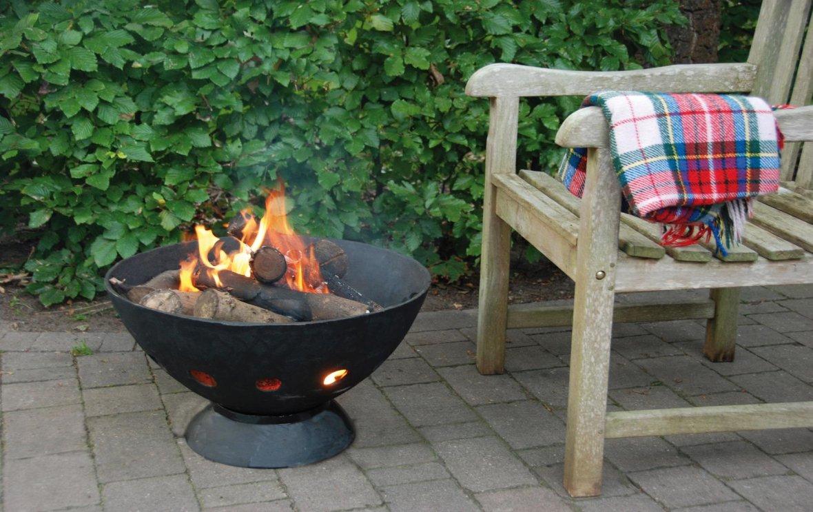 Gietijzeren Vuurschaal + BBQ