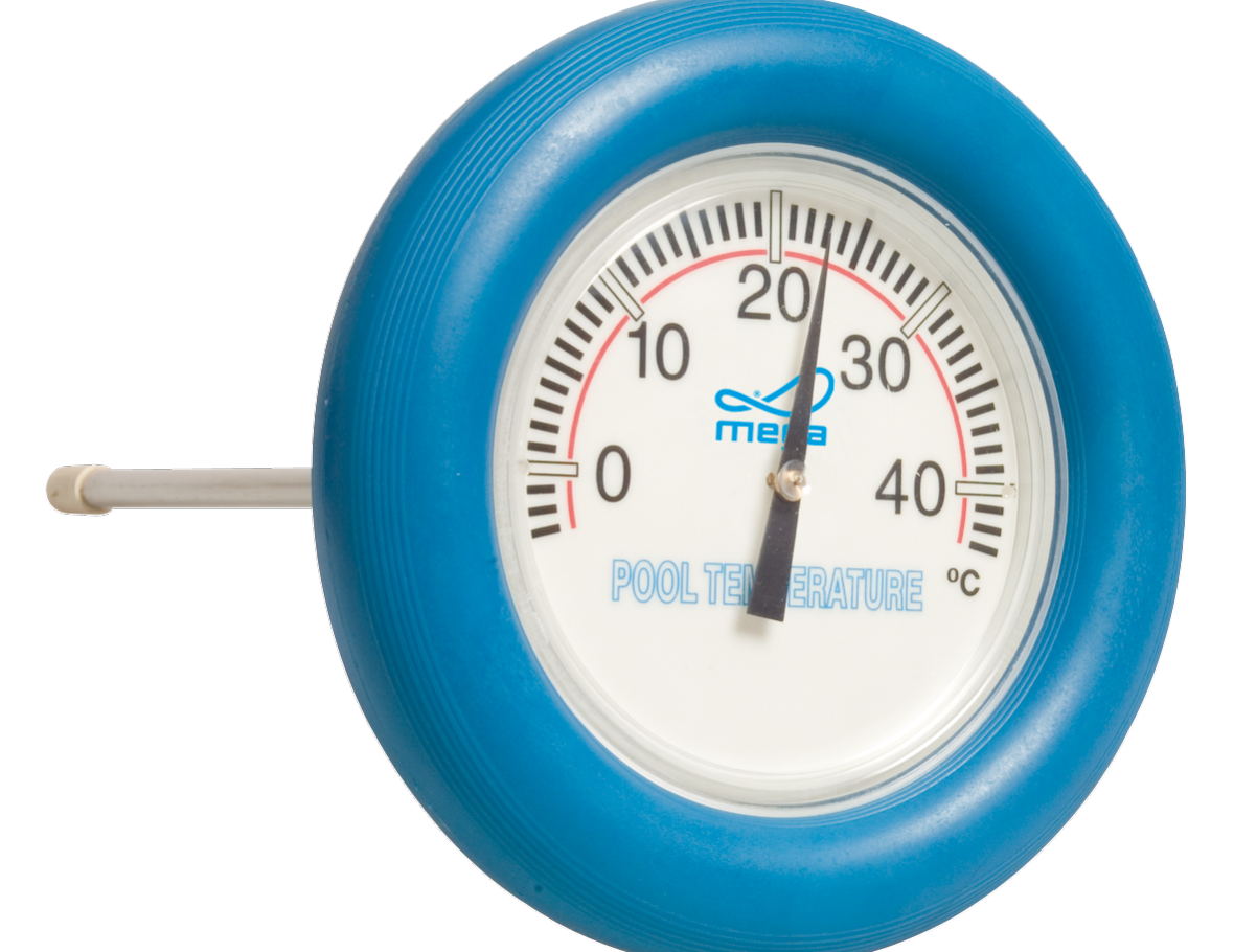 Thermometer Zwembad rond