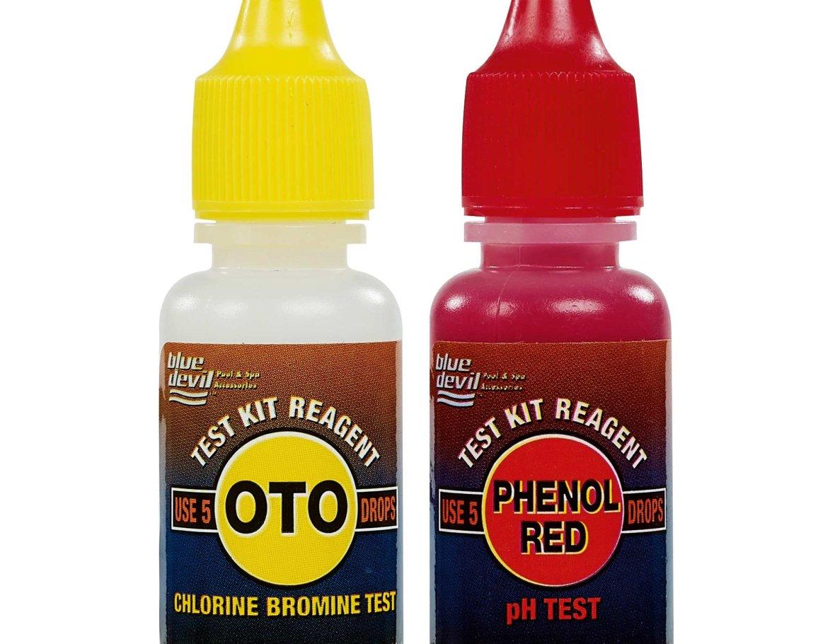Oto- en Phenol navulling voor Testkit