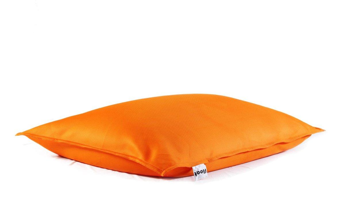 Oranje drijvende zitzak