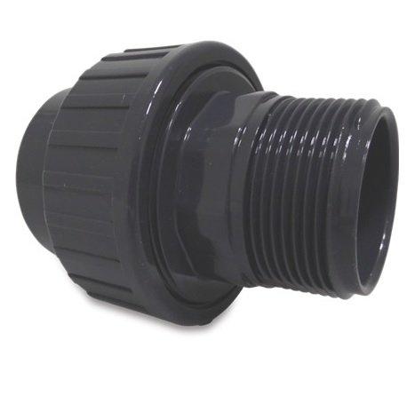 PVC koppeling 63 x 2