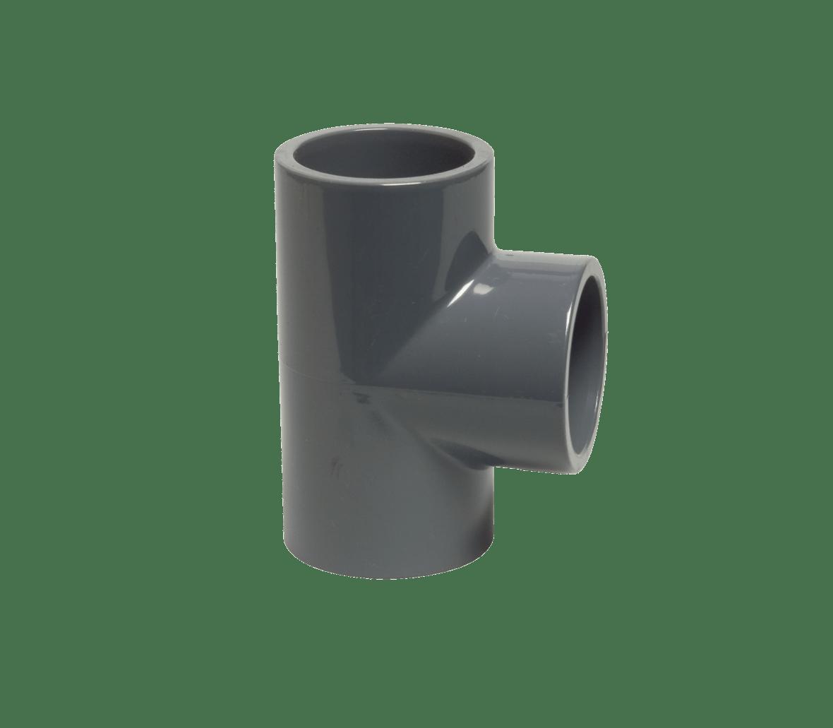 PVC T-stuk 90° Ø63