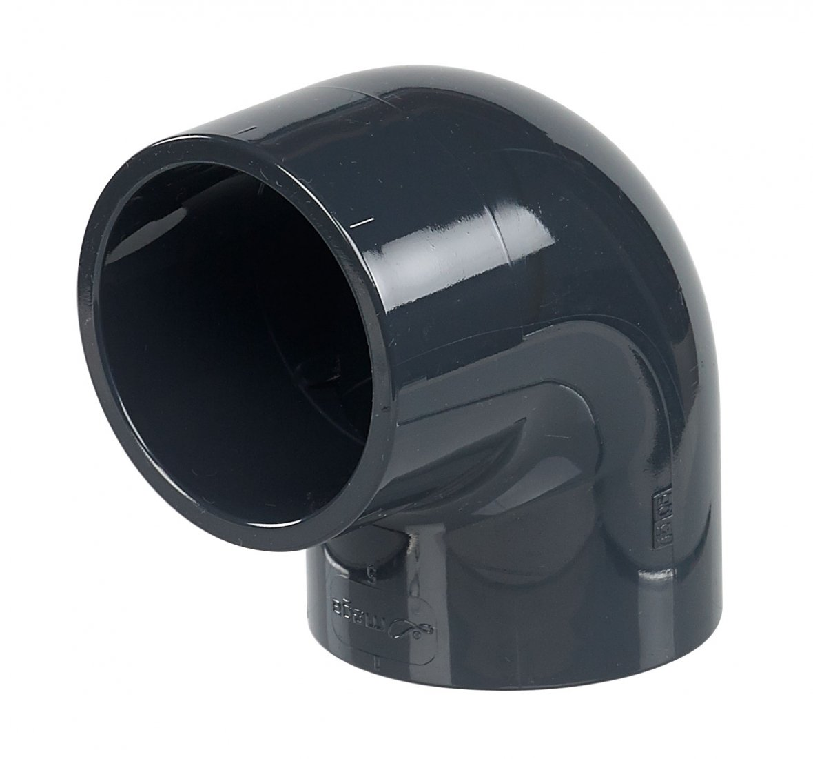 PVC knie 90° diameter 50mm