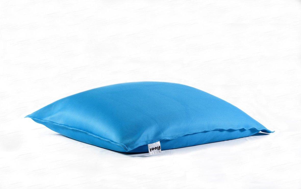 Drijvende zitzak turquoise
