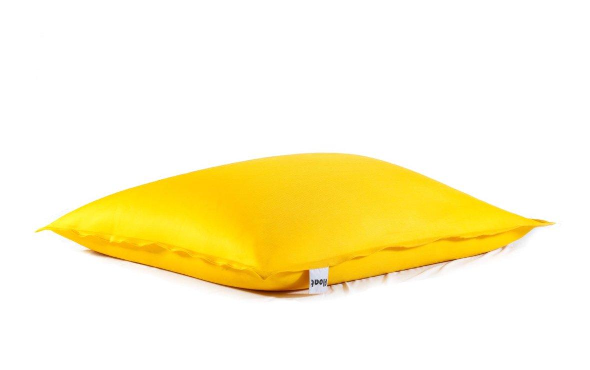 Gele, drijvende zitzak