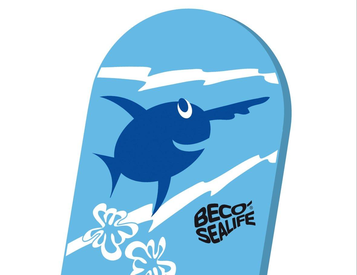 zwemplank blauw