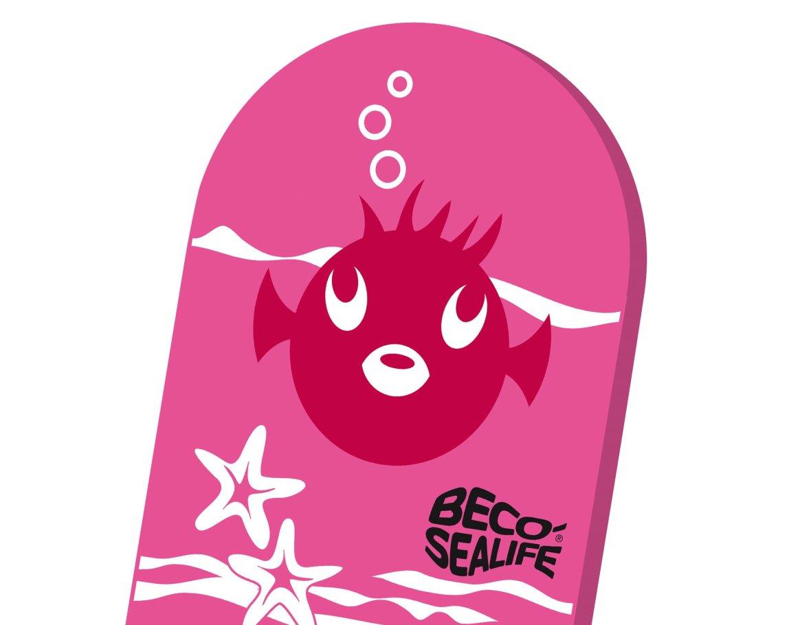 Roze zwemplank