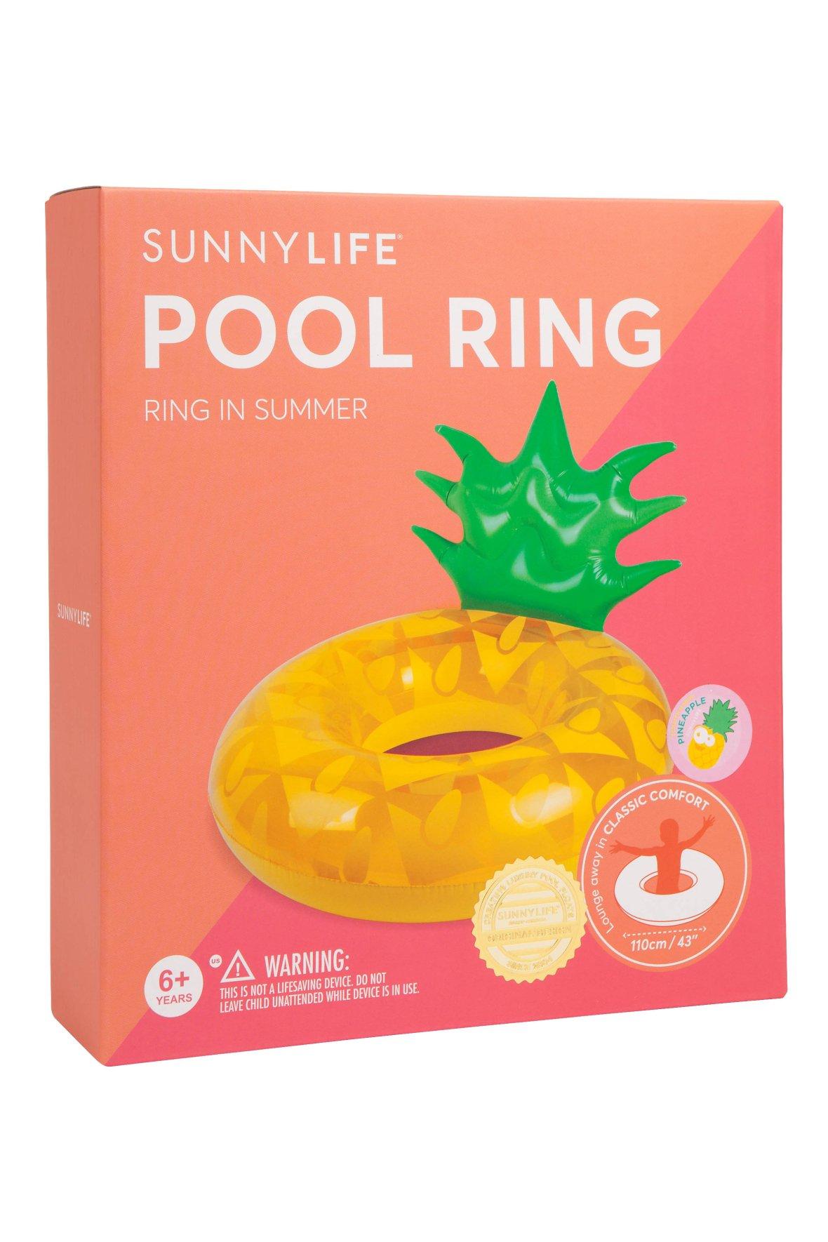 Ananas Zwemband |Pool Ring