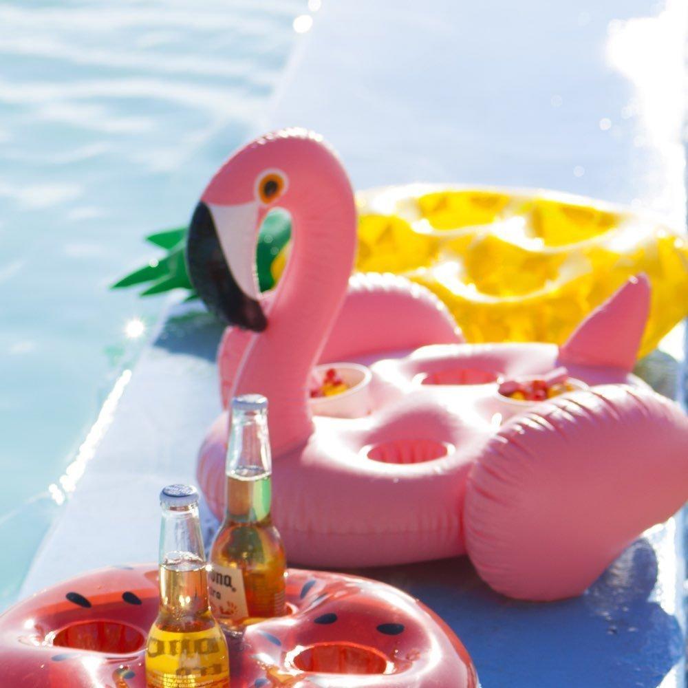 Drijvende bekerhouder flamingo