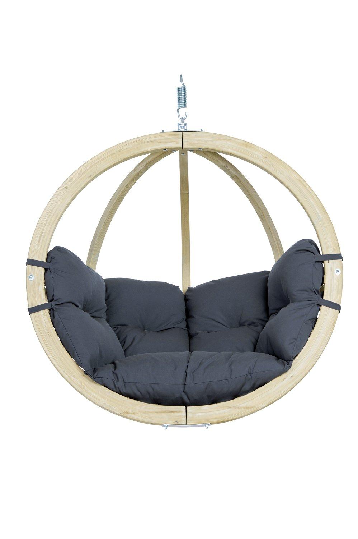 Hangstoel voor in de tuin - Antraciet