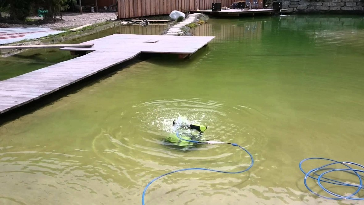 Zwemvijverrobot Dolphin Bio Suction