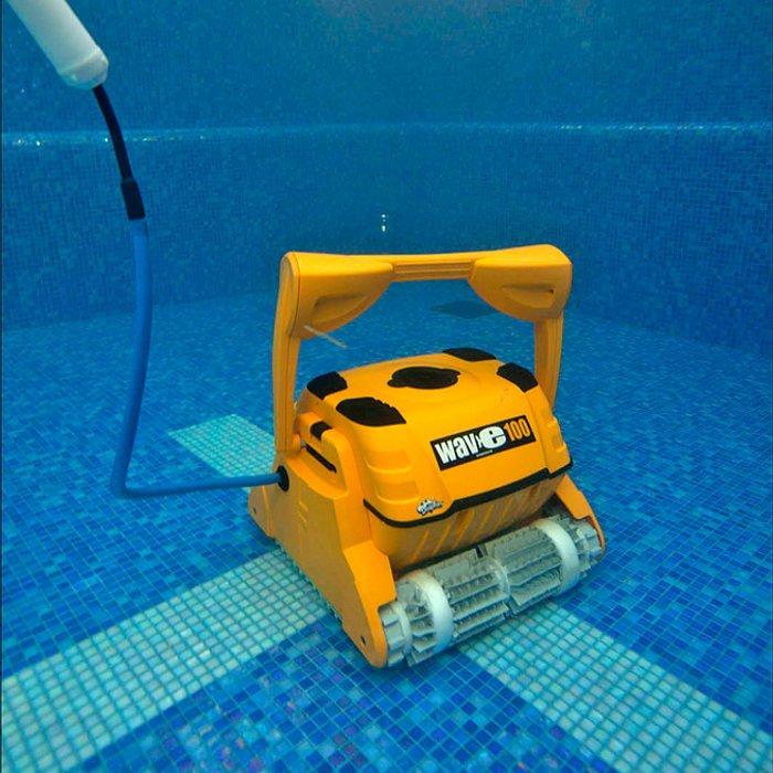 Zwembadrobot Dolphin Wave 100