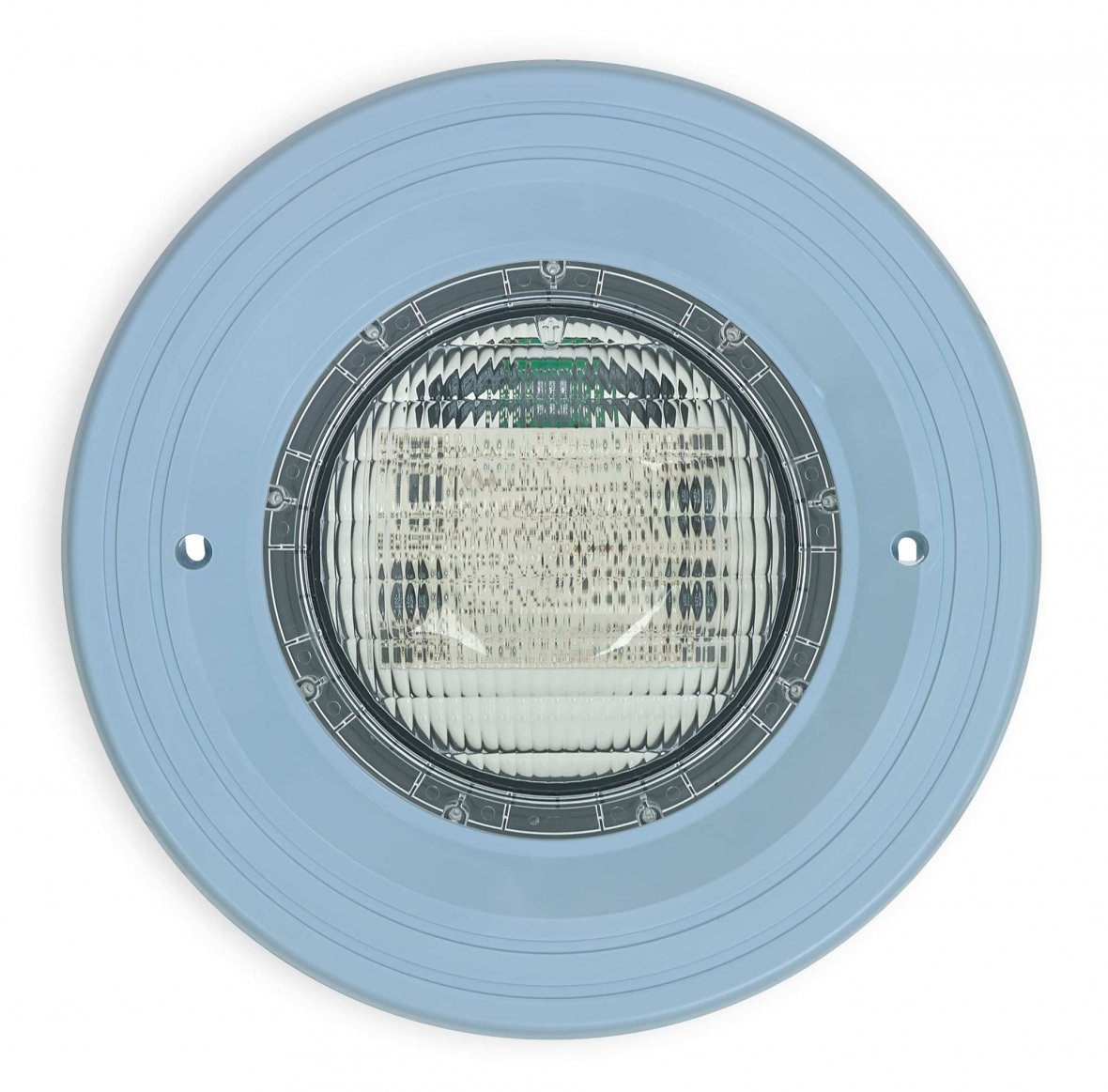 LED Onderwaterlicht met licht blauw kader.