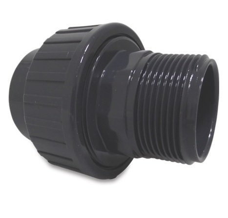 PVC koppeling 50 x 2