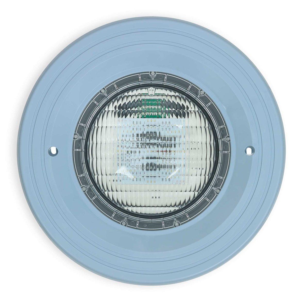 Onderwater kleuren LED licht met lichtblauw kader