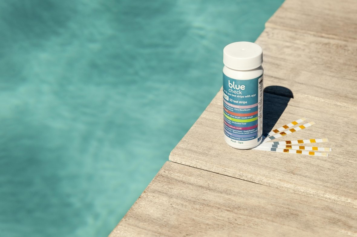 Blue Check Pool&Spa 5-in-1 teststrips