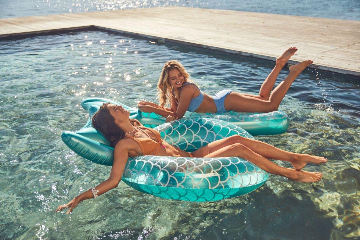 Opblaasbare Ring Luxe | Zeemeermin