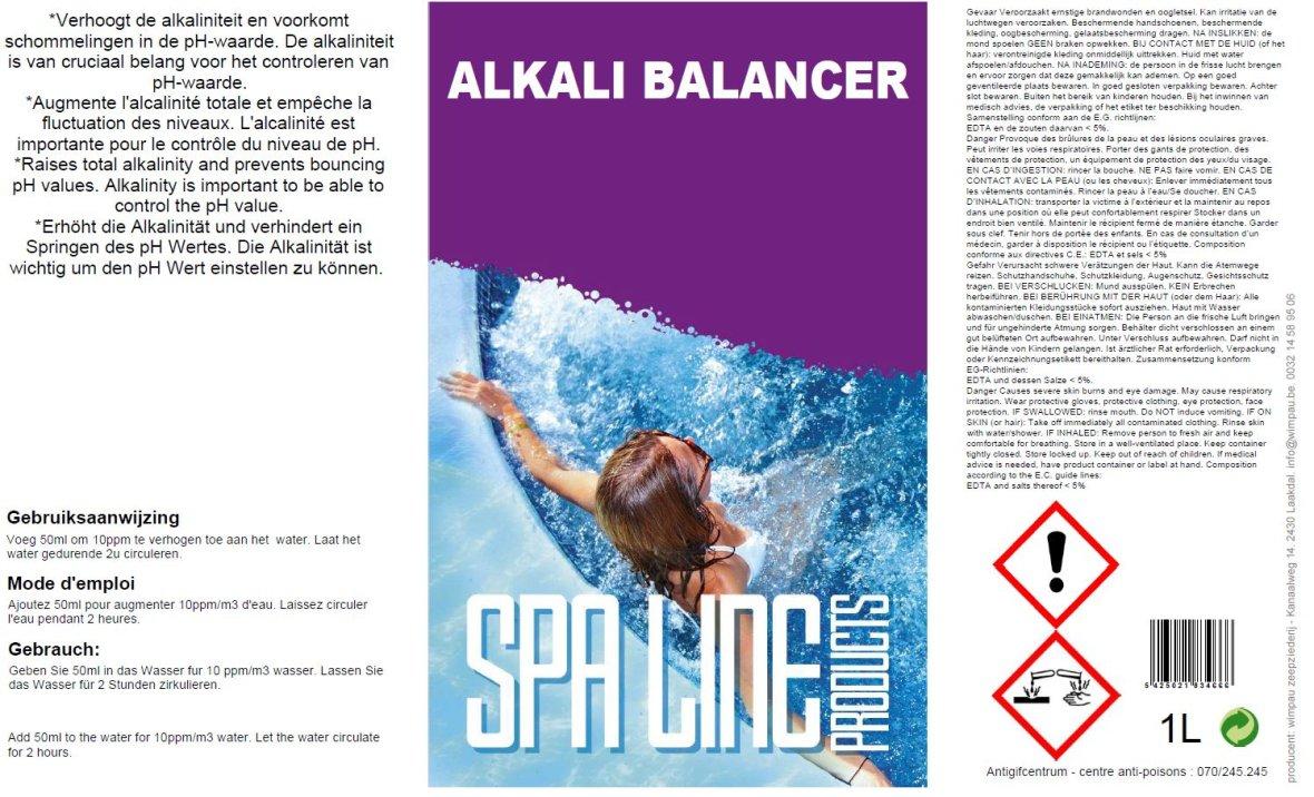 Poolline Alkali Balancer 1L