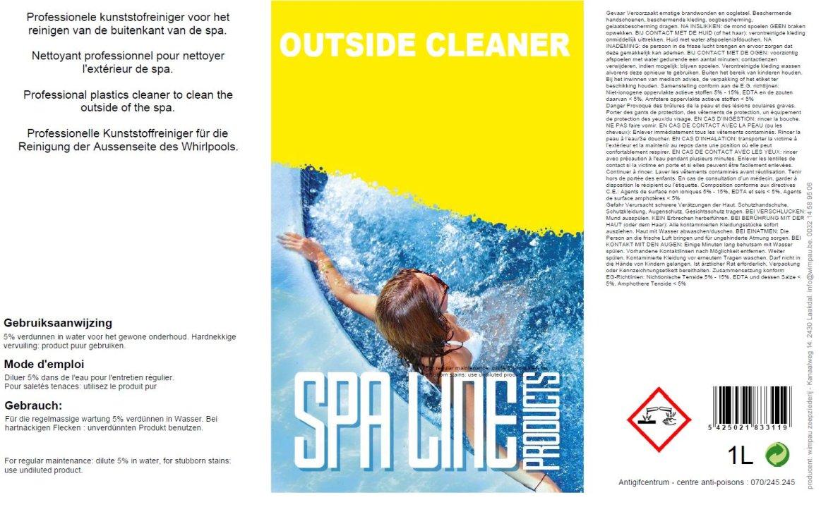 Spaline Outside Cleaner 1 l